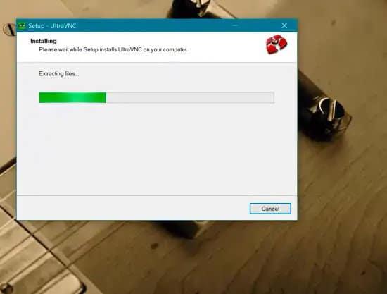 Cómo instalar UltraVNC