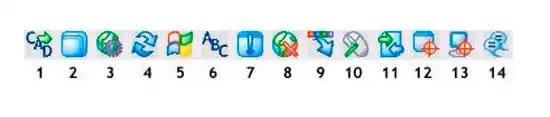 Cómo es la barra de herramientas de UtraVNC