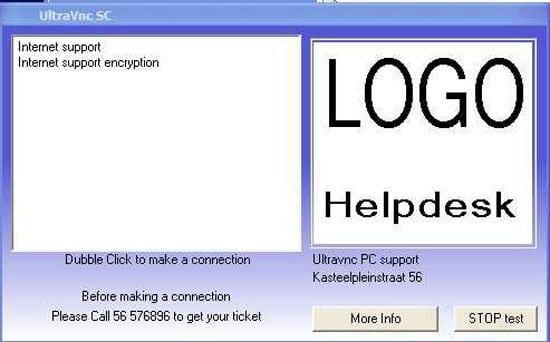 UltraVNC PCHelpware y Single Click