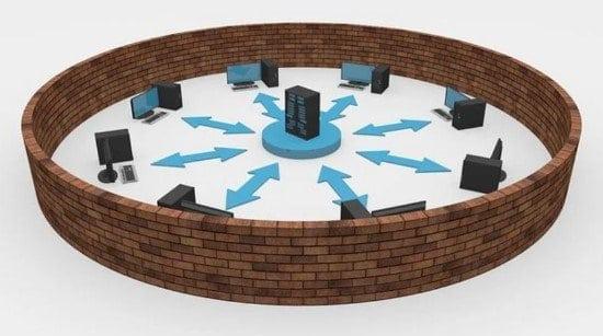 El firewall protege las redes y los equipos