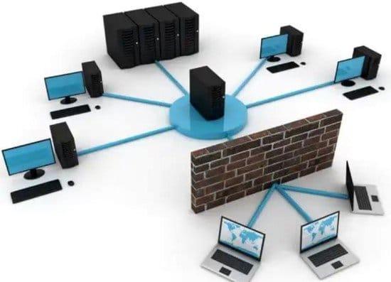 Firewall protegiendo a una red interna