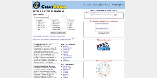 Web de chat paginas Rollosfaciles
