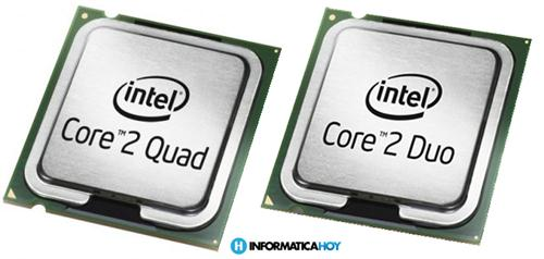 Nomenclatura de los procesadores Intel