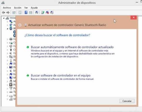Solución de problemas con la conexión Bluetooth en Windows