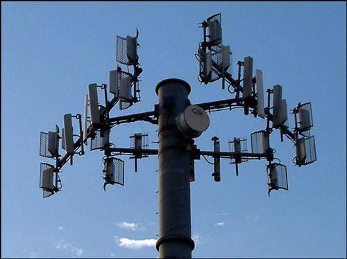 Torres de transmisión celular
