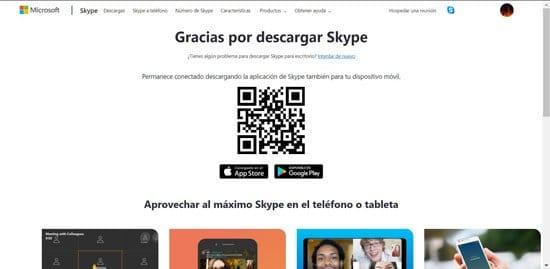 Pasos para descargar Skype