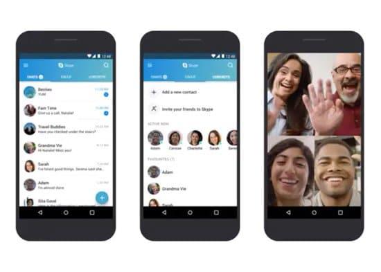 Cómo usar Skype en Android
