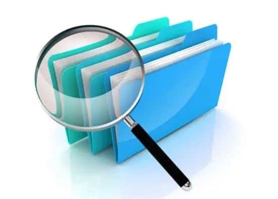 Buscar archivos borrados