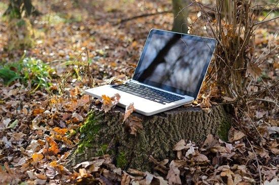 Computadora Notebook con conexión WiFi