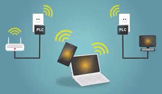 Conexión a internet por PLC