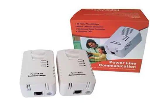 Adaptador de conexión a internet por PLC