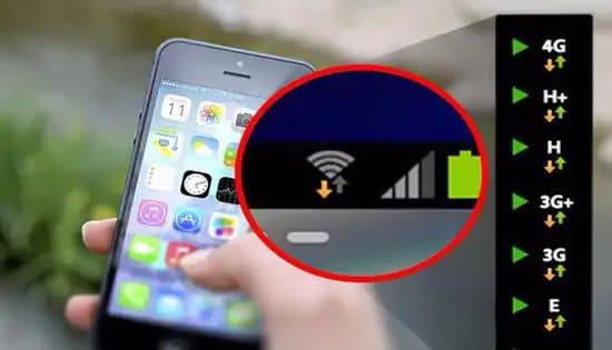 Distintos tipos de conexión a través de telefonía móvil