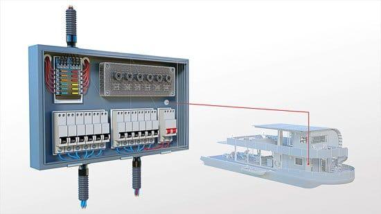 Esquema eléctrico diseñado en AutoCad