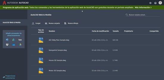 Autocad web y Autocad móvil