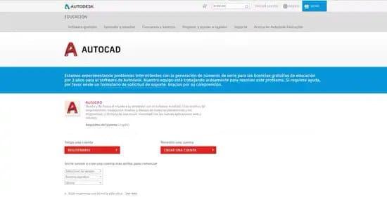 Pasos para descargar AutoCad gratis