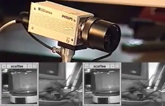 Vieja cámara para vigilancia