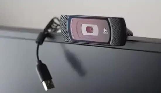 Cámara web con conexión USB