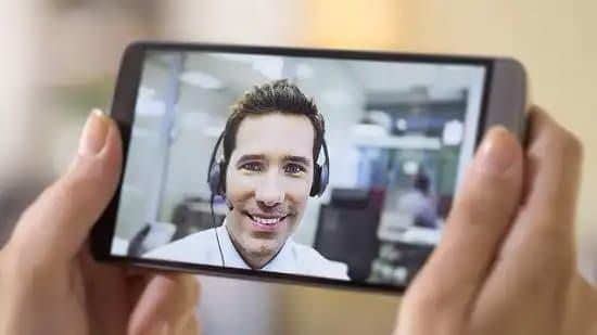 Videollamada por teléfono móvil
