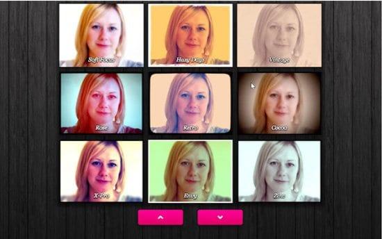 Aplicación Webcam Toy
