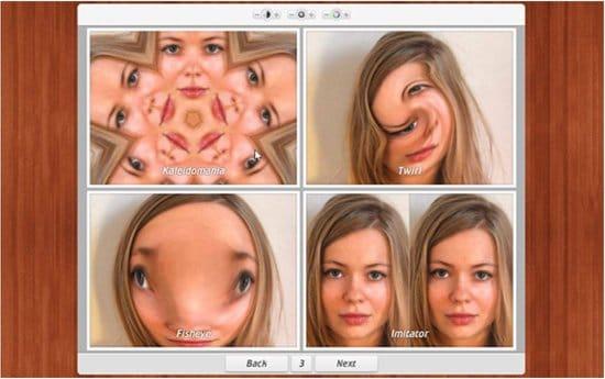 Aplicación Comic Webcam