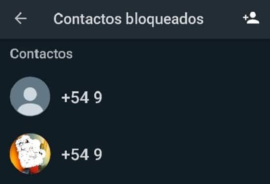 Pasos para eliminar un contacto bloqueado en WhatsApp