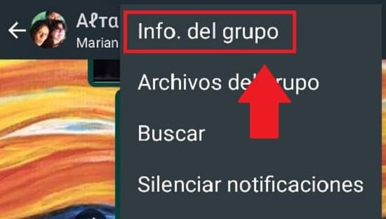 Pasos para eliminar un contacto en un grupo de WhatsApp