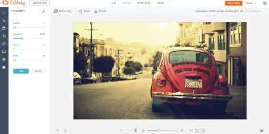 Pasos para difuminar el fondo de una imagen con PicMonkey
