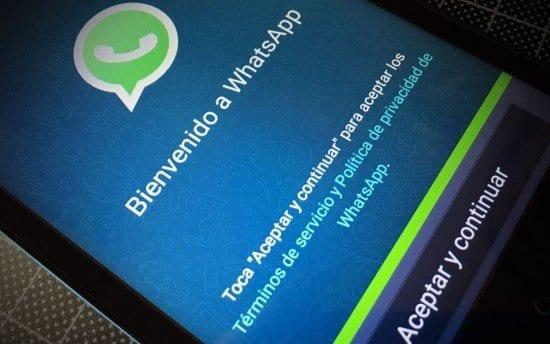 Instalar WhatsApp en el teléfono móvil