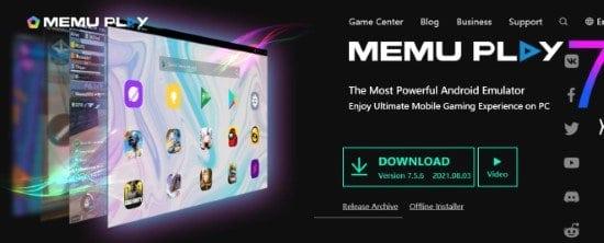 Memu Play emulador de Android para computadora