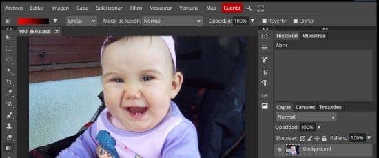 Editar fotos gratis con Fotoshop