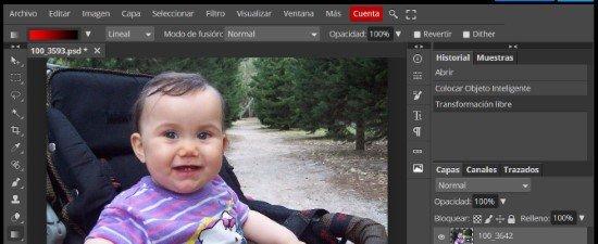 Cómo usar Fotoshop online
