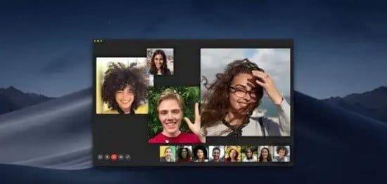 Pasos para videoconferencia grupal en FaceTime