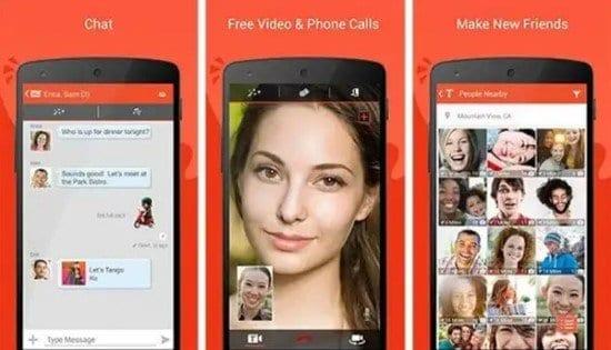 Aplicación Tango para Android
