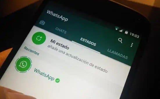 Aplicación WhatsApp para Android