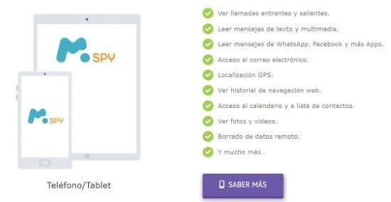 Aplicación Spybubble para espiar celulares