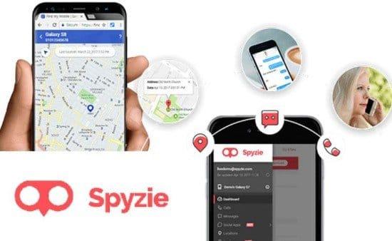 Aplicación Spyziepara espiar celulares