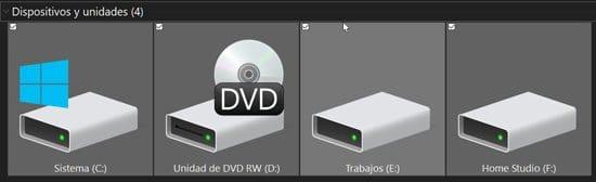 Varios discos duros en una misma computadora