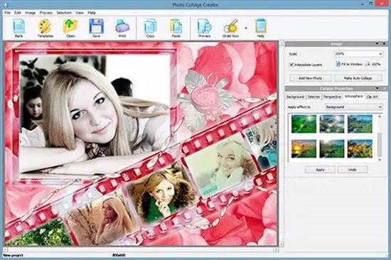 Cómo hacer collage de fotos con Photo Collage Creator