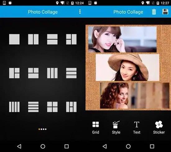 Hacer collage de fotos en Android