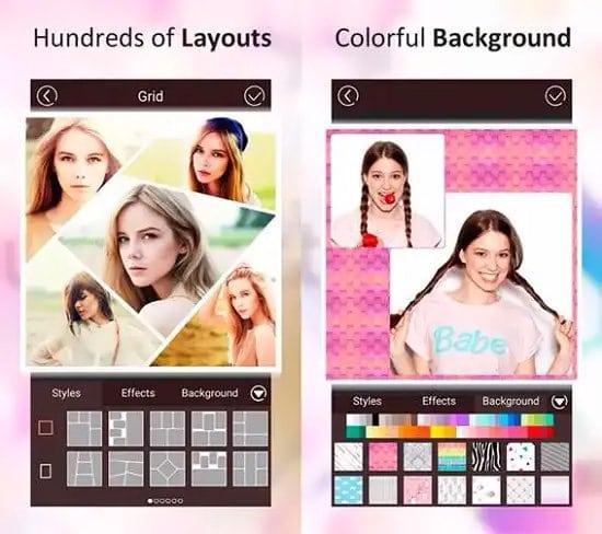 Crear collage de fotos con Photo Collage Maker en Android