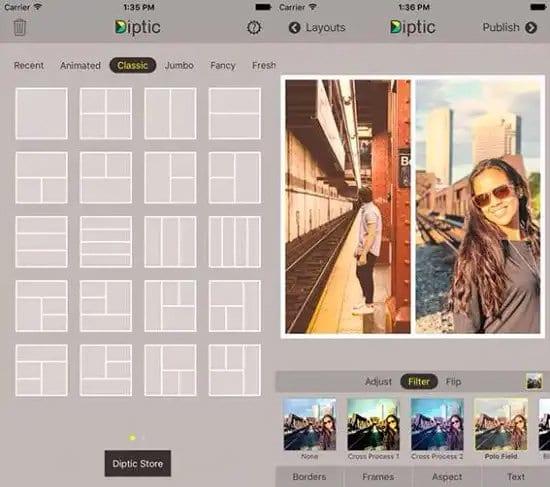 Crear collage de fotos en Mac
