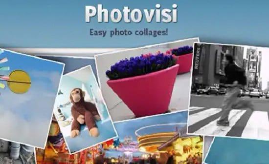 Cómo crear collage de fotos con Photovisi