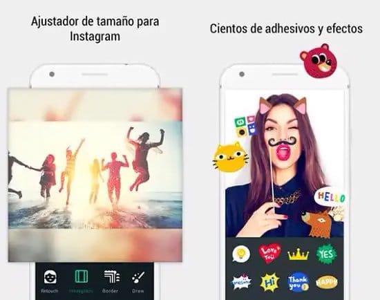 Crear collage de fotos con Photo Grid