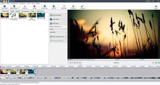 Añadir música a un video en PhotoStage