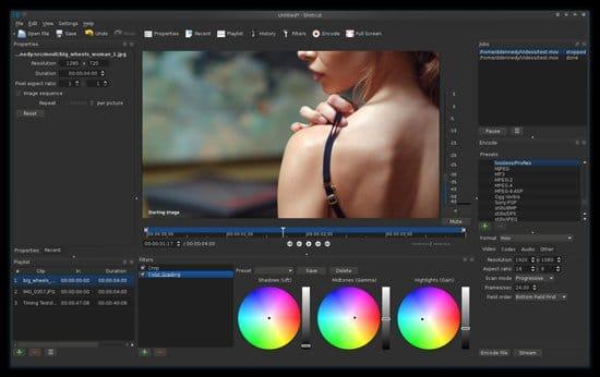 Crear video con Shotcut