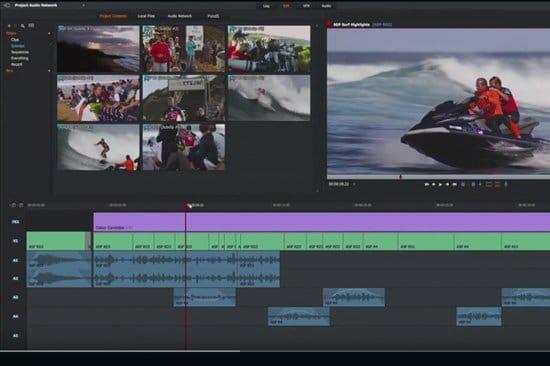 Crear video con Lightworks