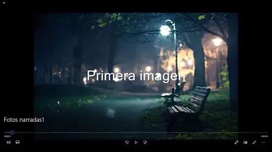 Crear video con Photo Story de Windows