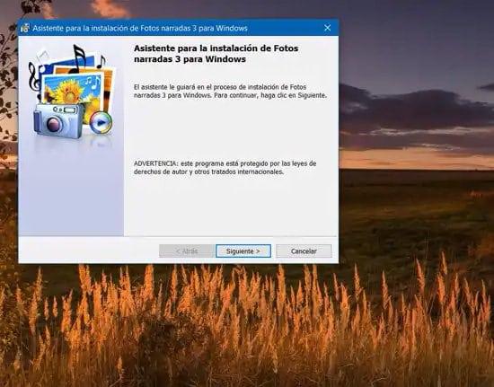 Crear video con fotos en Windows