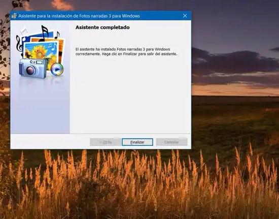 Asistente de Windows para crear video con fotos