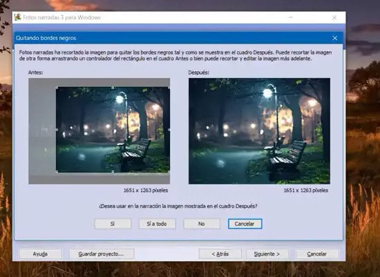 Editar las imágenes para crear video